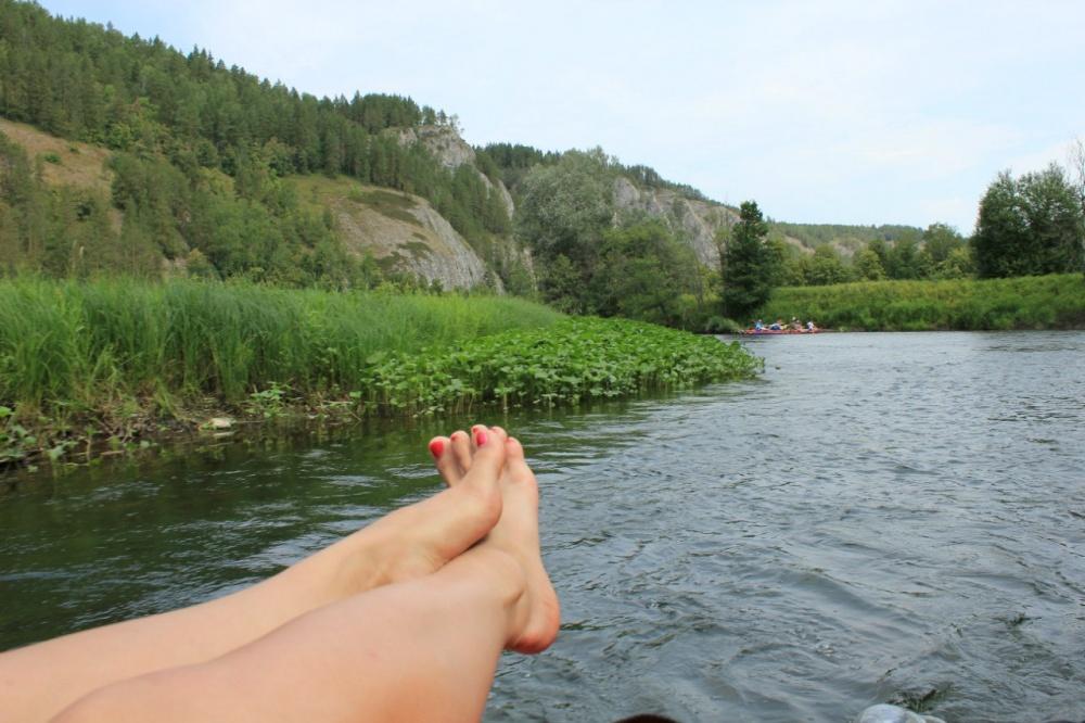 видео сплав по реке белая